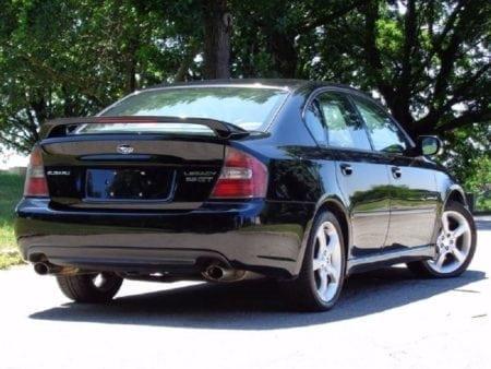legacy sedan rear