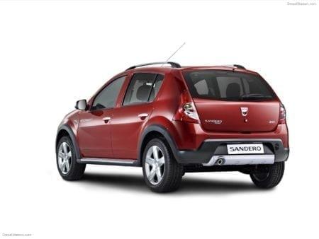 dacia - Piloto trasero izquierdo Dacia Sandero 2007-2012