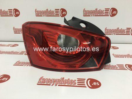 seat - Piloto traseroizquierdo Seat Ibiza Negro 5 puertas 2008-2014