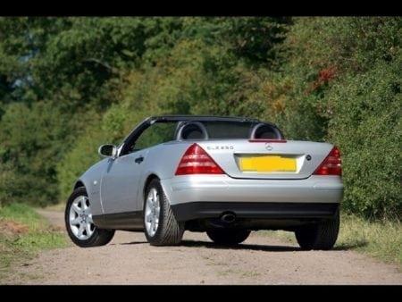 slk rear first model
