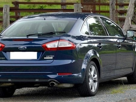 2013 ford mondeo zetec ecoboost rear 2