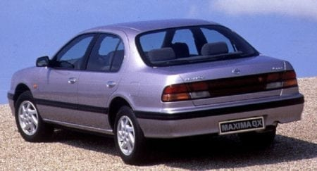 maxima qx rear