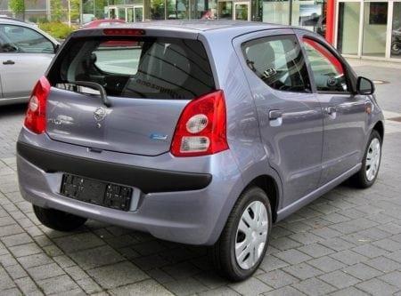 nissan pixo 20090809 rear
