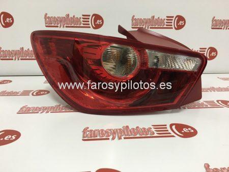 seat - Piloto trasero izquierdo Seat Ibiza 3 puertas 2008-2014 rojo