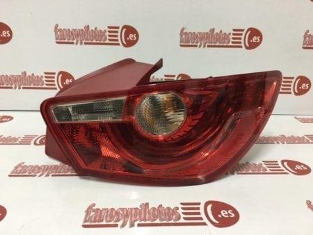 ibiza 3p rojo de2 450x338 - Piloto traseroderecho Seat Ibiza 3 puertas 2008-2014 Rojo