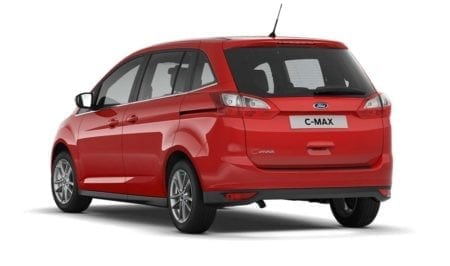 new ford c max 3 red rear