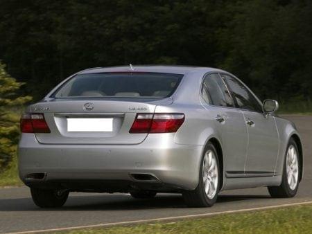 lexus ls 460 rear