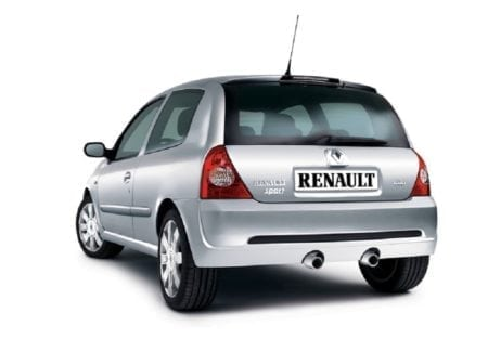 clio ii resty rear
