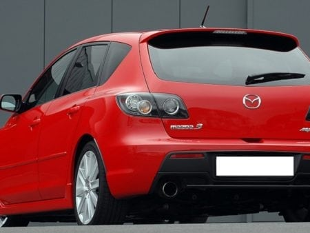 mazda 3 rear led hatchback