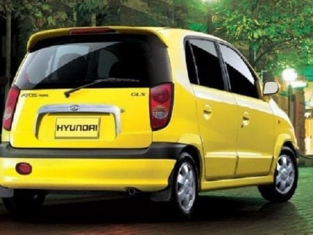 hyundai - Piloto trasero derecho Hyundai Atos Prime 1999 - 2003
