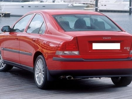 volvo s60 2002 red 1