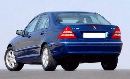 w203 rear sedan