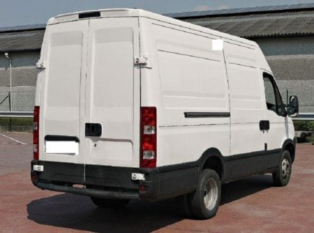 iveco daily 2006 rear