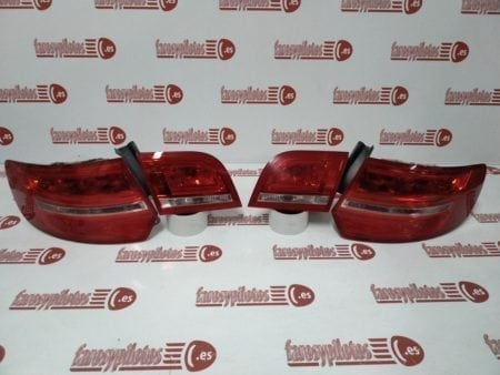 audi - Pilotos traseros Audi A3 Sportback Restyling 2008-2012 LED Juego completo