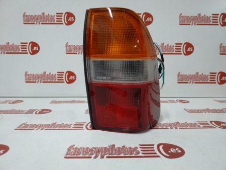mitsubishi - Piloto trasero derecho Mitsubishi L200 K74 años 1996-2006 Ambar Blanco Rojo