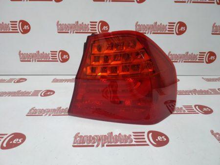 piloto trasero bmw e90 4p sedan 2008 2011 led derecho 3