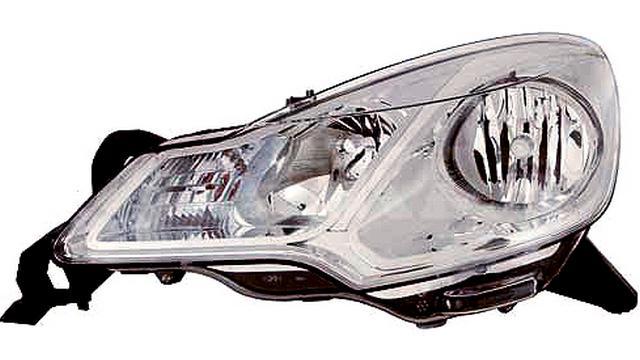 Faro Delantero Derecho Citroën C3 año 2010 a 2013