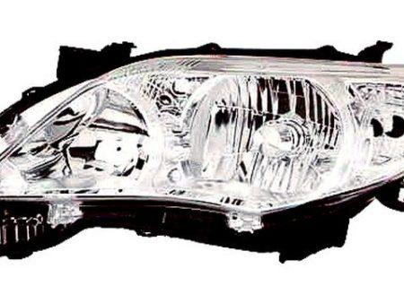 Faro Delantero Derecho TOYOTA COROLLA Sedan 4P (2010-2013) | 11901002