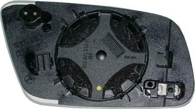 Espejo Cristal + Base Derecho Audi A3 año 2000 a 2003