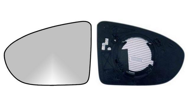 Espejo Cristal + Base Derecho Nissan Qashqai (2006-2014)