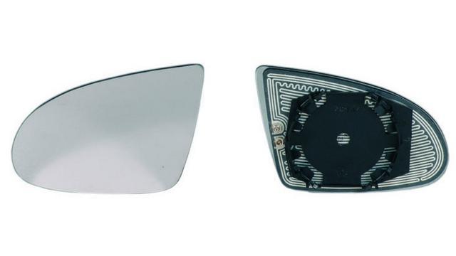 Espejo Cristal + Base Izquierdo Audi A2 año 2000 a 2005