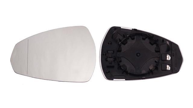 Espejo Cristal + Base Izquierdo Audi A3 año 2012 a 2019