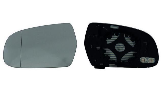 Espejo Cristal + Base Izquierdo Audi A4 año 2012 a 2019