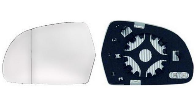 Espejo Cristal + Base Izquierdo Audi A5 año 2008 a 2011