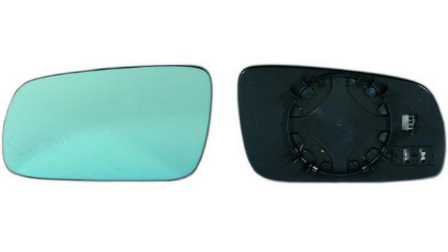 Espejo Cristal + Base Izquierdo Audi A6 año 1994 a 1997
