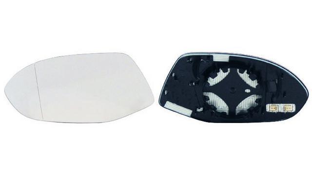 Espejo Cristal + Base Izquierdo Audi A7 Sportback año 2010 a 2019