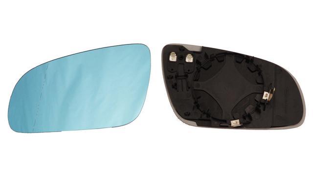 Espejo Cristal + Base Izquierdo Audi A8 año 2002 a 2010