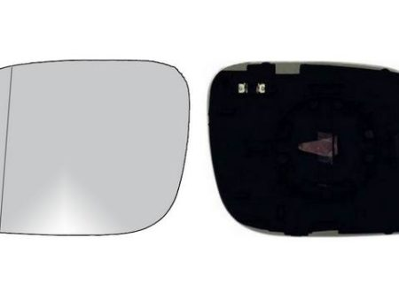 Espejo Cristal + Base Izquierdo Volkswagen Touareg (2003-2007)
