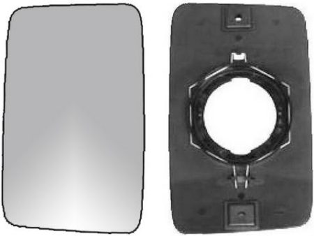 Espejo Cristal + Base Reversible Izdo=Dcho Peugeot J5 (1990-1994)