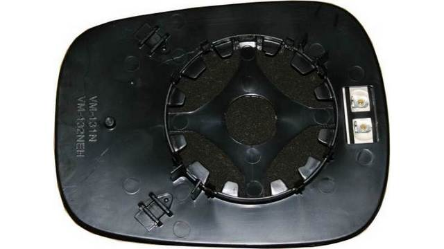 Espejo Cristal + Base Reversible Izdo=Dcho Renault Kangoo II (2001-2008)